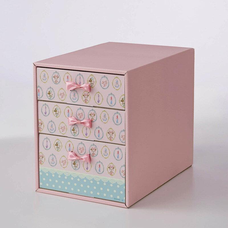 【Disney】ディズニー 下着収納ボックス/ミニーマウス 家具 収納 クローゼット 押入 衣装 ケース ボックス