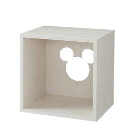 【Disney】ディズニー キューブボックス 「ホワイト」 ◆ オープン ◆ ◇ 家具 収納 リビング 壁 スチール メタル オープン ラック ◇