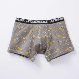 【STAR WARS】スター・ウォーズ メンズボクサーパンツ(前とじ) 「R2‐D2(グレー)」 ◆ M L LL 3L ◆ ◇ メンズ トランクス パンツ 下着 インナー プレゼント 父の日 ◇