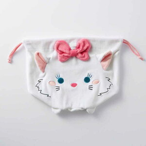 【Disney】ディズニー のびのび巾着収納袋 「マリ...