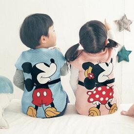 【Disney】ディズニー 抱きつき ニットキルト ベスト ◆ ミッキー ミニー プーさん ドナルド チップ デール マリー 80 90 100 ◆ ◇ ベビー服 ベビー 服 新生児 男の子 女の子 ベビー用品 新生児服 出産祝い プレゼント アウター ベスト ミニーの日 ◇