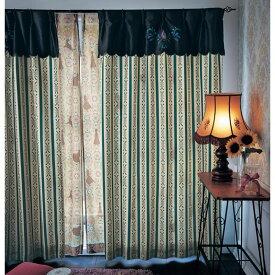 【Disney】ディズニー 刺繍とプリントのドレスイメージカーテン(アナ) ◆ 約100×210(2枚) ◆ ◇ カーテン リビング 寝室 子供部屋 厚地 ドレープ おしゃれ デザイン かわいい ◇