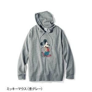 【Disney】ディズニー ミニ裏毛パーカ(メンズ) ...
