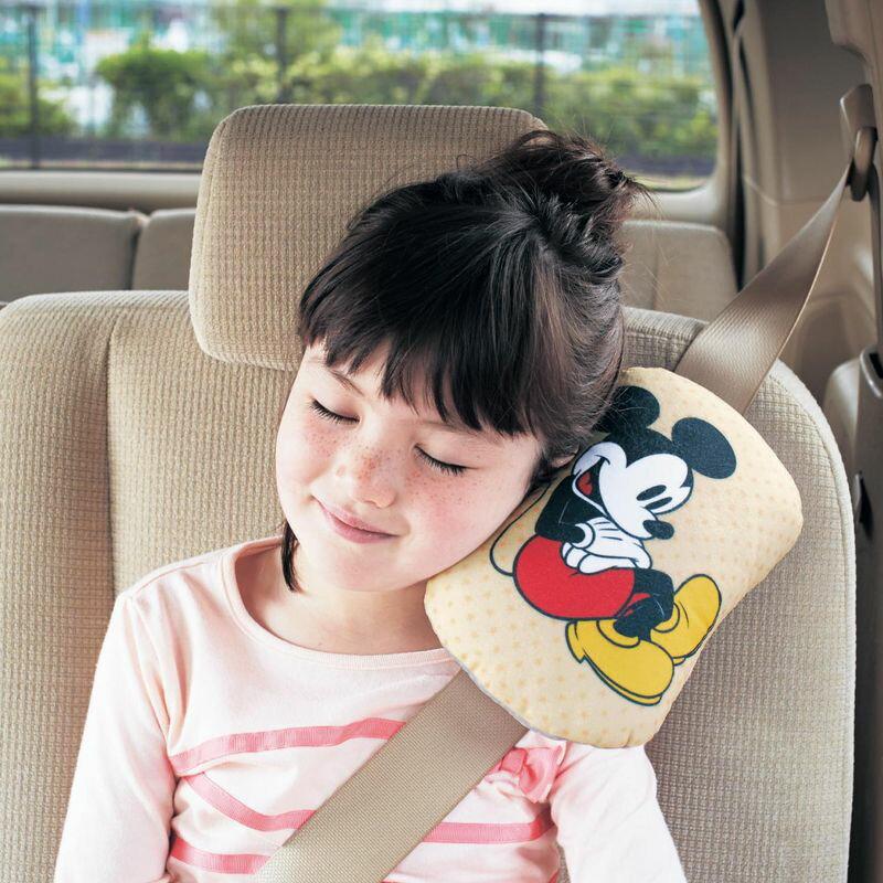 【Disney】ディズニー シートベルト用クッション ◇ カー用品 カーグッズ 車用品 カーシートカバー クッション 女性 運転 運転手 男性 腰痛 ◇