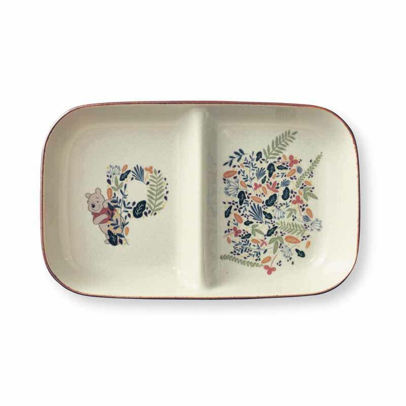 【Disney】ディズニー くいしんぼう仕切り皿 「Botanical Garden」 ◆ Botanical Garden ◆ ◇ 皿 食器 キッチン ワンプレート ランチ プレート 仕切り 昼食 ◇