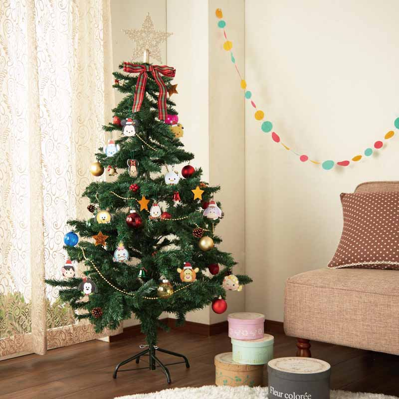 【Disney】ディズニー 150cmのクリスマスツリー/ディズニー ツムツム ◇ クリスマス ツリー インテリア 雑貨 おしゃれ グッズ 飾り 置物 置き 物 オーナメント デザイン 小物◇