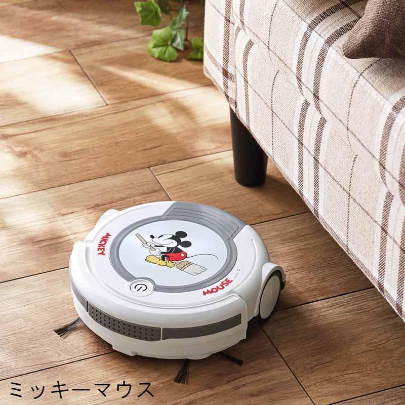 【Disney】ディズニー ロボットクリーナー 「ミッキーマウス」 ◇ 家電 生活家電 リビング 寝室 女性 ◇
