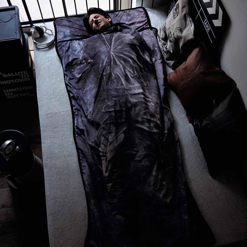 【エントリーでP10倍!10/26 1:59まで】【STAR WARS】スター・ウォーズ ハン・ソロカーボナイト凍結つつ毛布 「ハン・ソロ」 ◇ 寝具 布団 ベッド bed◇