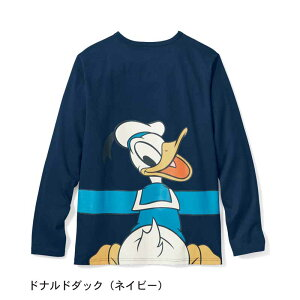 【Disney】ディズニー つながる長袖Tシャツ(メン...