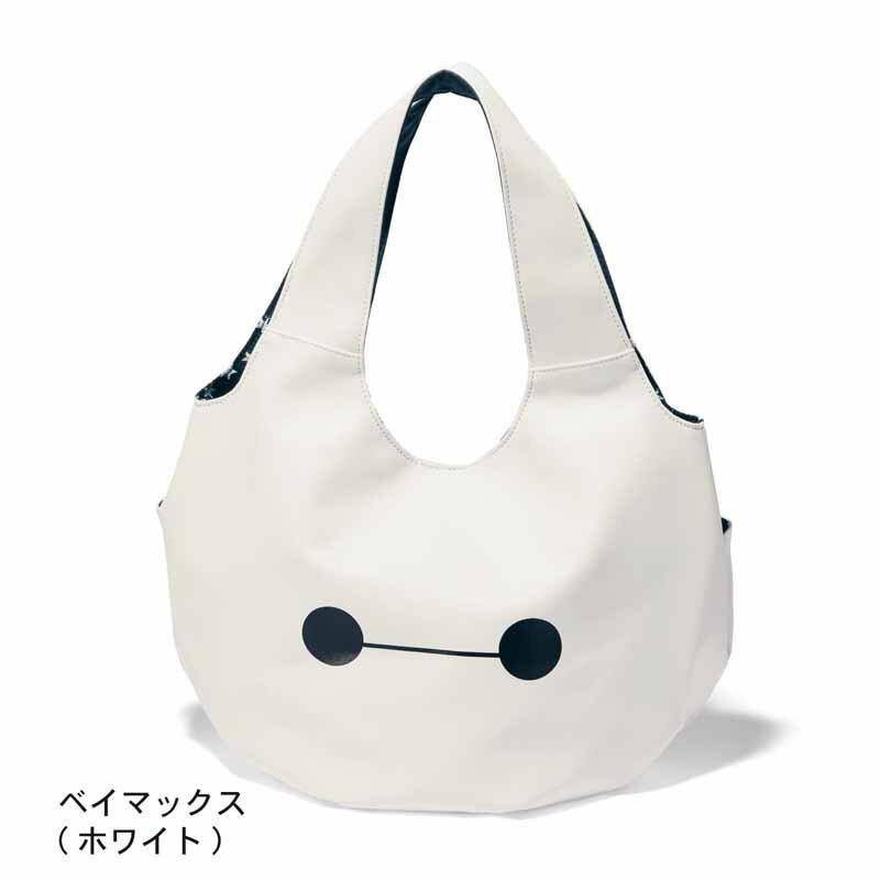 【Disney】ディズニー バルーン型トートバッグ 「ベイマックス(ホワイト)」 ◆ ベイマックス(ホワイト) ◆ ◇ バッグ カバン かばん レディース 女性 鞄 トート 手提げ 手さげ ◇