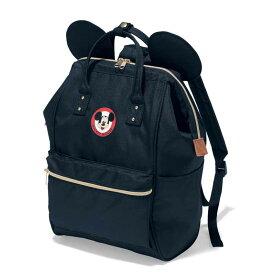 【Disney】ディズニー 耳付きがま口リュックサック 「ブラック」 ◇ バッグ カバン かばん レディース 女性 鞄 リュック デイ パック アウトドア ピクニック 遠足 ◇