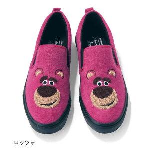 【Disney】ディズニー サガラ刺繍スリッポン 「ロ...