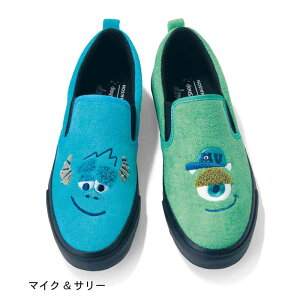 【Disney】ディズニー サガラ刺繍スリッポン 「マ...