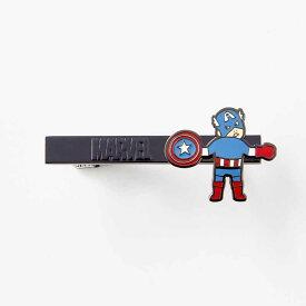 【Marvel】マーベル つながるネクタイピン 「キャプテン・アメリカ」 ◇ メンズ 男性 小物 プレゼント ◇