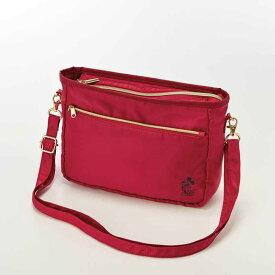 【Disney】ディズニー ぬいぐるみバッチが入るポシェット 「レッド」 ◇ バッグ カバン かばん レディース 女性 鞄 ショルダー 通勤 ◇
