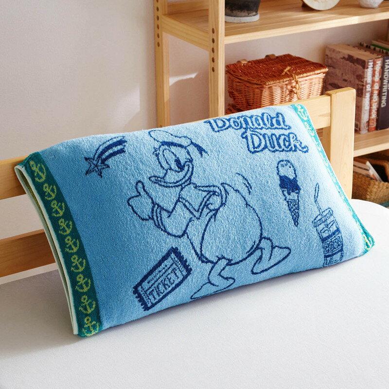 【Disney】ディズニー のびのび枕カバー 「ドナルド・ダック」