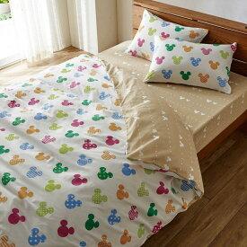 【Disney】ディズニー ダニを通しにくい綿100%掛け布団カバー 「マルチ」 ◆ シングル ◆ ◇ 寝具 布団 ベッド カバー 掛布団 掛けカバー 布団カバー 掛け布団 bed ファブリック ◇