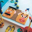 【Disney】ディズニー ジュート混の玄関マット 約40×65 エントランス 入口 おしゃれ かわいい デザイン ポテトヘッド…