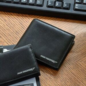 【Marvel】マーベル レザー二つ折り財布 「ブラッ...