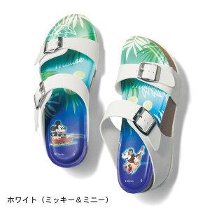 【Disney】ディズニー 中敷プリントサンダル 「ホ...