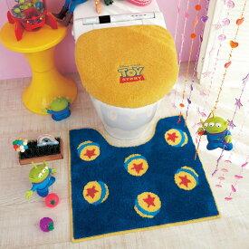 【Disney】ディズニー トイレマット・フタカバーセット 「トイ・ストーリー」 ◆ 標準&温水フタセット ◆ ◇ トイレ 便所 お手洗い おしゃれ ◇
