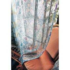 【Disney】ディズニー プリントレースカーテン 約100×183(2枚) ◆ 約100×183(2枚) ◆ ◇ カーテン リビング 寝室 子供部屋 レース おしゃれ デザイン かわいい ◇