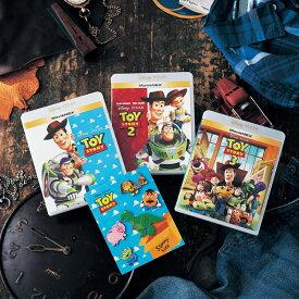 【ベルメゾン限定ピンバッジセット】【Disney】ディズニー トイ・ストーリー 1・2・3( ブルーレイ + DVD ) ◇ Blu-lay MovieNEX 映画 ムービー アニメ 限定セット ◇
