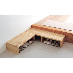 玄関踏み台 ◇ 家具 収納 玄関 エントランス 下駄 箱 シューズ ボックス 靴箱 ◇