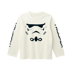 【STAR WARS】スター・ウォーズ 長袖Tシャツ【子供服 男の子】 「ストームトルーパー」 ◇ 子供服 子供 服 子供用品 男の子 女の子 子供用 Tシャツ 半袖 長袖 ◇