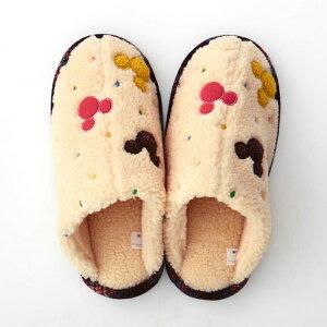 【Disney】ディズニー 足首まであったかな脱ぎ履き...