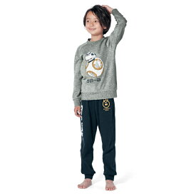 【STAR WARS】スター・ウォーズ スムースパジャマ 「BB−8」 ◆110 120 130 140 150 160 170◆ ◇子供服 子供 服 子供用品 男の子 女の子 子供用 パジャマ 部屋着 スムースパジャマ ◇