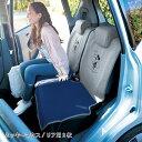 【Disney】ディズニー 軽自動車用スウェット風撥水カーシートカバー 「ミッキーマウス」 ◆ フロント用2枚 リア用2枚 …