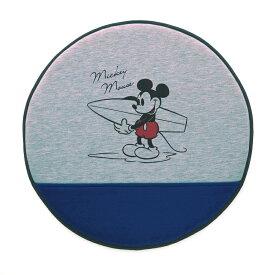 【Disney】ディズニー スウェット風撥水シェードクッション 「ミッキーマウス」 ◇ カー用品 カーグッズ 車用品 カーシートカバー クッション 女性 運転 運転手 男性 腰痛 ◇