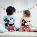【 Disney 】抱きつきニットキルトベスト ◆ 80 90 100 110 120 ◆◇ 部屋着 羽織 体温調整 綿100% ベビー ベビー 服 …