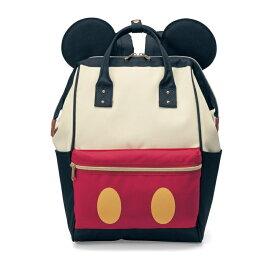 【Disney】ディズニー がま口デザインリュックサック 「ミッキーマウス(ブラック系)」 ◆ ミッキーマウス(ブラック系) ◆ ◇ 子供 キッズ こども 女性 レディース バッグ リュック カバン 通勤 通学 お出かけ 習い事 ◇