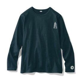 【STAR WARS】スター・ウォーズ 長袖Tシャツ「スター・ウォーズ」 「ブラック」 ◆ M L LL 3L ◆ ◇ ベルメゾン メンズ ファッション Tシャツ カットソー トップス ◇