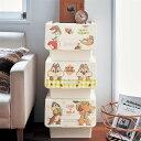 【Disney】 ディズニー ふた付きケース(選べるキャラクター) ◆ チップ&デール ◆ ◇ ベルメゾン 家具 収納 ボックス ケース 小物 ◇