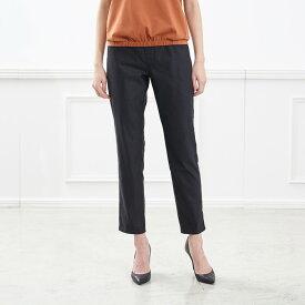 サラサラアンクルスキニーレギンス パンツ 「ブラック」 ◆ S M L LL 3L ◆ ◇ レディースファッション レディース パンツ スリム パンツ ◇