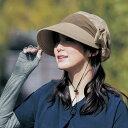 風で飛びにくい キャスケット ◇ UV 夏 日焼け 対策 帽子 キャップ ハット 女性 レディース かわいい オシャレ ベルメゾン ◇