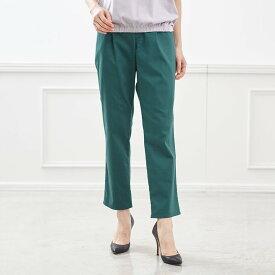 サラサラ テーパード レギンス パンツ 「グリーン」 ◆ S M L LL 3L ◆ ◇ レディースファッション レディース パンツ スリム パンツ ◇