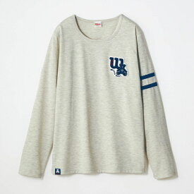 秋口から着られる素材感◎サガラ刺繍 長袖 Tシャツ 「キナリ」 ◆ S M L LL 3L ◆ ◇ スポーツ ウェア レディース ベルメゾン ◇