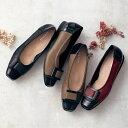 【店内15%ポイントバック開催中!】 【送料無料】 軽量キルティングバレエシューズ[日本製] ◇ 靴 レディース 女性…