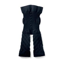 太ももすきま パンツ 「ブラック」 ◇ 女性 下着 インナー ショーツ 下着 肌着 サポート シェイプ ショーツ ベルメゾン ◇