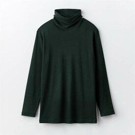 綿 100% あったかインナー・ タートルネック 長袖 メンズ ◆ M L LL 3L ◆ ◇ ベルメゾン メンズ 肌着 インナー 下着 半袖 長袖 ◇