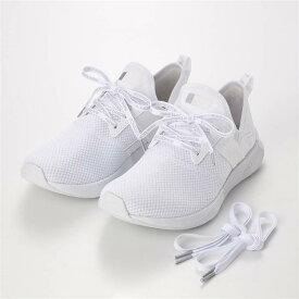 エナジャイズ スニーカー 「ホワイト」 ◆ 22.5 23 23.5 24 24.5 25 ◆ ◇ ベルメゾン 靴 レディース 女性 シューズ スニーカー ◇
