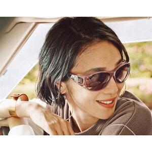 【BELLE MAISON】ベルメゾン サイドまでカバーする偏光レンズファッション用グラス ◇ ベルメゾン サングラス 眼鏡 めがね メガネ 女性 レディース アイウェア おしゃれ ◇