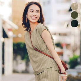ストレッチひさし袖ブラウス ◆ S M L LL 3L ◆ ◇ ベルメゾン レディース ファッション シャツ ブラウス トップス ◇