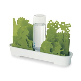 ベルメゾン ボトルで自動給水する気化式自然加湿器 「グリーン」 ◇ 生活家電 リビング 寝室 女性 湿度 保湿 風邪 ◇