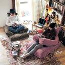 ソファーにも抱き枕にもなるもっちり素材の布団収納袋 「ピンク」