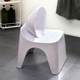 ベルメゾン 風呂いす 湯桶 お手入れしやすく座り心地が良いバスチェア・ボウルセット